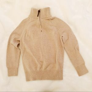 Crewcuts • Tan Turtle Neck Sweater (4/5)